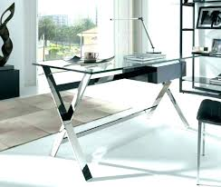 Glass Top Office Desk Glass Top Office Desk Glass Desks For Home