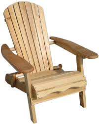Outdoor Adirondack Chairs Products Foldable Adirondack Chair Fir Wood Unfinished