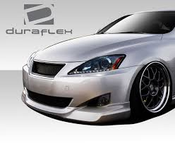 lexus sc300 front lip 2006 2008 lexus is series is250 is350 duraflex i spec body kit