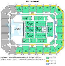 sydney entertainment centre floor plan neil diamond live in concert in australia
