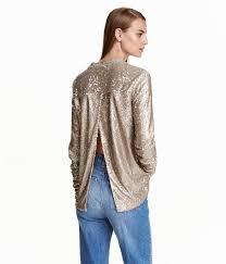 metallic sequin tops season shop