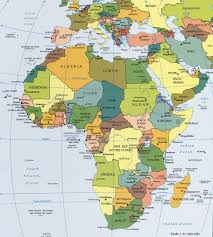 Physical Map Of East Asia by Africa Political Map Political Map Of Africa Worldatlas Com