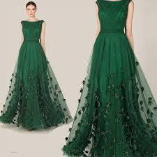robe de soiree dark green lace tulle formal evening dresses maxi