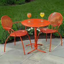 Metal Patio Furniture - orange metal patio chairs metal patio chairs gallery xtend
