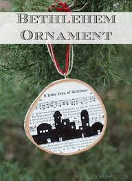 o town of bethlehem ornament lovely etc
