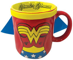 cool coffee mug woner woman molded caped mug cool coffee mugs