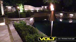Brass Landscape Lighting Volt 2 In 1 Tiki Brass Torch Light Landscape Lighting