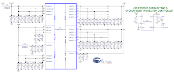 cy4603 4 port usb 3 0 hub digikey electronics