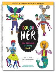 color mix u0027n match coloring book u2013 ivko store katrin leblond