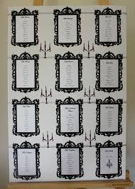 mariage baroque plan de table mariage baroque atelier graines d idées