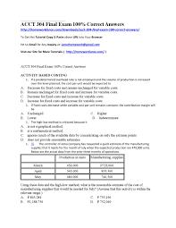 acct 304 final exam 100 correct answers by esha khan pti issuu