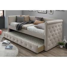 Daybed With Trundle And Mattress Trundle Daybeds You Ll Wayfair
