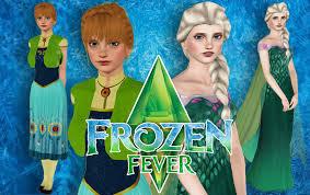 sims 3 elsa anna frozen fever download link