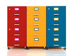 Orange Filing Cabinet Types Of File Cabinets For A Home Office Ideas 4 Homes
