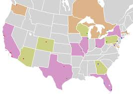 america map zoom map of usa and canada mlb zoom mapsof net
