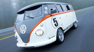volkswagen bus front vw bus gets 523bhp 911 turbo engine top gear
