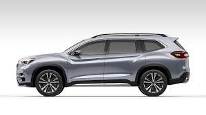 New Subaru 7 Seater Subaru Ascent Concept Previews New 3 Row Suv Motor Trader Car News