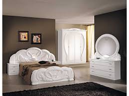 Italian White High Gloss Bedroom Furniture Set Homegenies - White high gloss bedroom furniture set