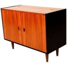 Flip Top Bar Cabinet Low Walnut Dry Bar Liquor Cabinet Furniture Storage And
