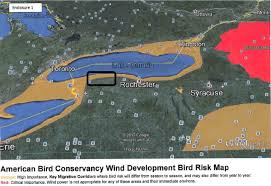 Dove Migration Map Pending Apex Lighthouse Wind Farm On Lakeshore