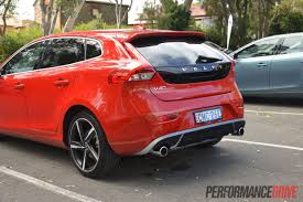 2013 volvo v40 review australian launch performancedrive