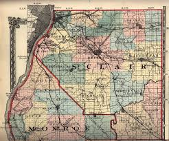 Illinois Map With Counties by St Clair County Illinois Genealogy Research Guide