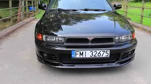 stanced mitsubishi galant mitsubishi galant 2 5 v6 sport edition black part 1 youtube