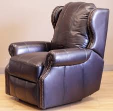 White Leather Recliner Chair Furniture Catnapper Hogan Brown Leather Wall Hugger Recliners