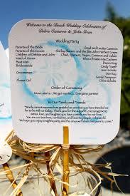Wedding Program Fan Kits Particular Put A Bird On It Wedding Program Fans To Keep Guests