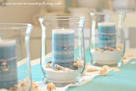 coastal centerpieces how to create a summer coastal centerpiece town country living