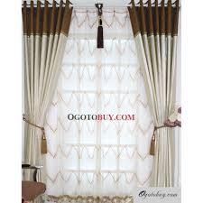 White And Brown Curtains Window Valances And Swags Swag Curtains For Living Room Fancy