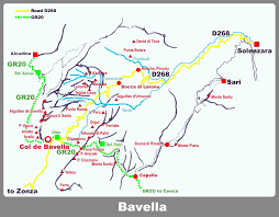 Corsica Map Aiguilles D U0027ornucciu Climbing Hiking U0026 Mountaineering Summitpost