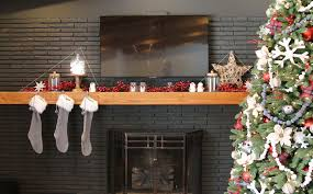 remodelaholic christmas mantel decorating