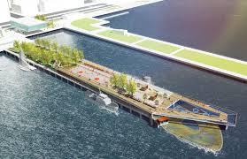 renderings revealed for olin u0027s manhattan pier 26 archpaper com