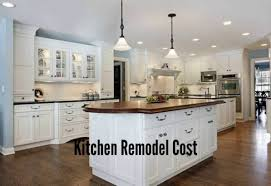 cost new kitchen cabinets kitchen how much does it cost to remodel a kitchen amazing cost
