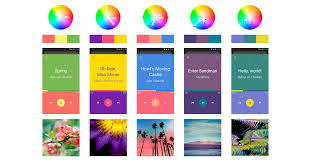 colors that go well with pink best three color scheme for ui design design code and prototyping