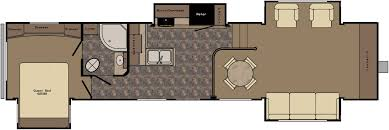 Rv Floor Plans by Crossroads Introduces Flush Floor Slide Design On Cruiser Fifth