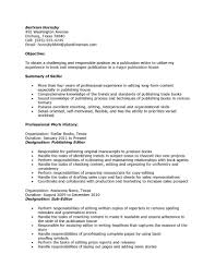 career resume exles book editor resume exles career publication page sle outlines