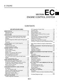 2004 nissan x trail emission system section ec pdf