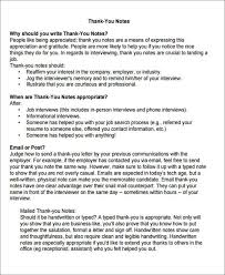 ideas of sample thank you letter after phone screening interview
