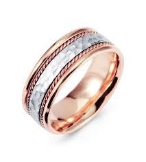 wedding bands white gold hammered 14k white gold milgrain wedding band ring bridal