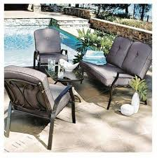 courtyard creations patio furniture cushions seating set by