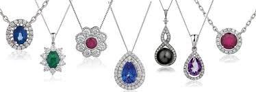 color stone necklace images 46 stone pendants for necklaces three stone drop diamond pendant jpg