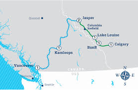 Canadian Rockies Map Canadian Rockies U0026 Pacific Nw Happy Trails Tours
