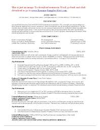 sample resume for cleaner sample cleaning resume sample john