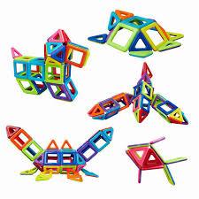 76pcs 3d magnetic construction building toy puzzle educational