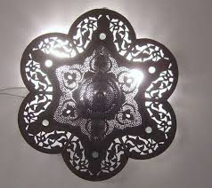 Ebay Ceiling Light Fixtures by Moroccan Oxidize Flush Mount Ceiling Lamp Light Fixture Flush
