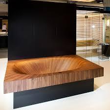 Wood Bathtubs Luxurious And Dramatic Wooden Bathtubs Make A Bold Visual
