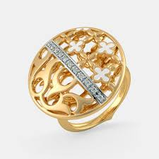 golden rings online images Buy 1150 women 39 s gold ring designs online in india 2018 bluestone png