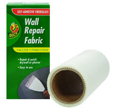 duck brand 282084 self adhesive drywall repair fabric 6 inch by